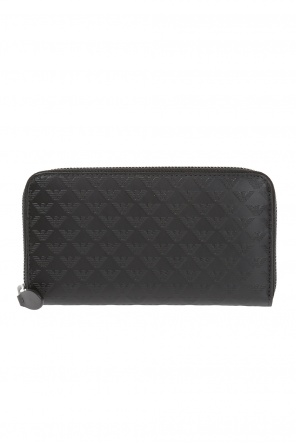 Embossed pattern wallet od Emporio Armani