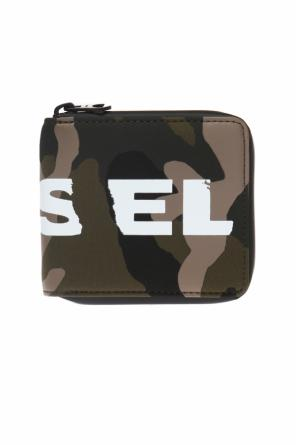 Wallet with a camo motif od Diesel