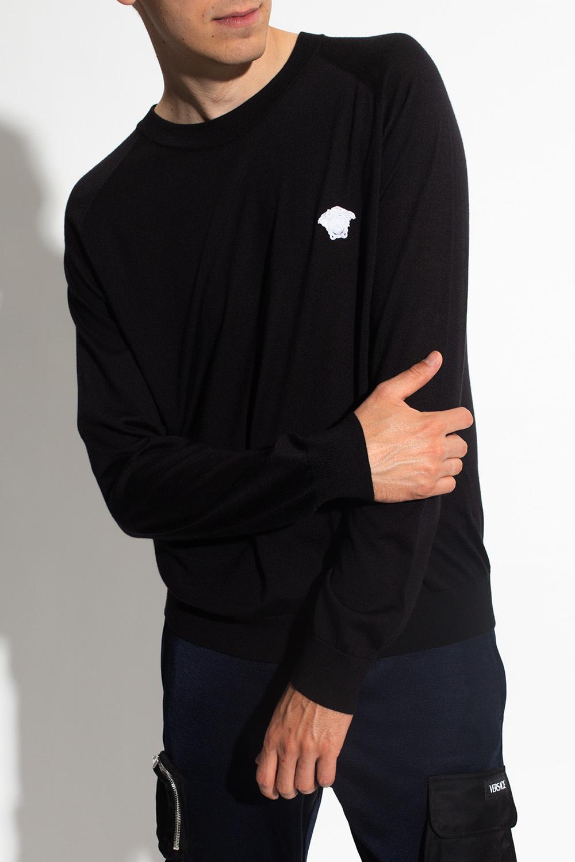 Versace Sweter z głową Meduzy