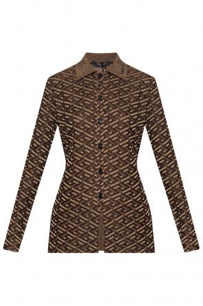 Monogrammed sweater od Versace