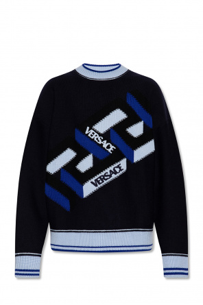Sweater with logo od Versace