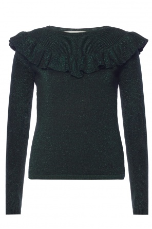 Sweater with ruffle at collar od Diane Von Furstenberg