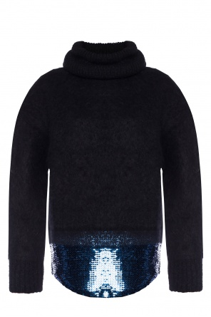 Sequinned turtleneck sweater od Sonia Rykiel
