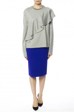 Sweater with ruffle od Diane Von Furstenberg
