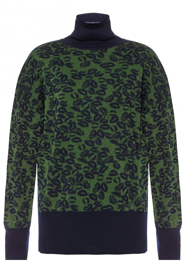 Turtle-neck with a lurex finish od Sonia Rykiel