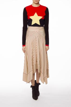Embroidered star sweater od Diane Von Furstenberg
