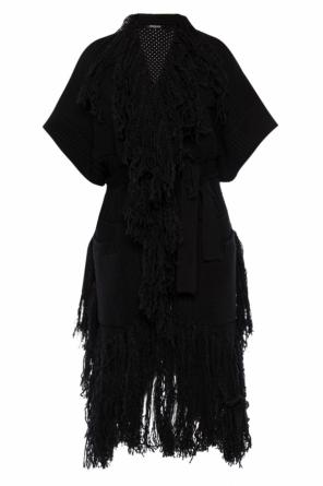 Fringed long cardigan od Balmain