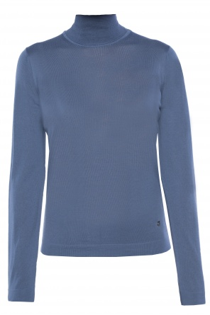 Logo turtleneck sweater od Salvatore Ferragamo