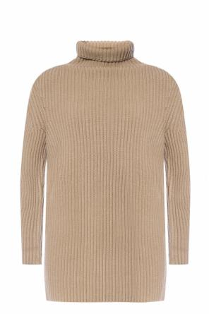 Ribbed turtleneck sweater od Salvatore Ferragamo