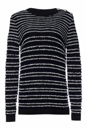 Striped sweater od Balmain