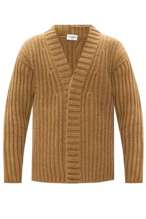 Rib-knit cardigan od Salvatore Ferragamo
