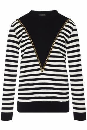 Sweater with round neck od Balmain