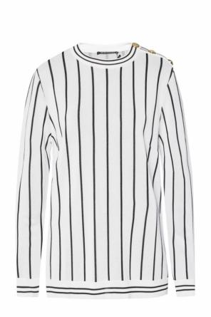 Sweater with a stripe motif od Balmain