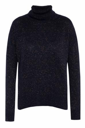 Lurex thread turtleneck sweater od Etro