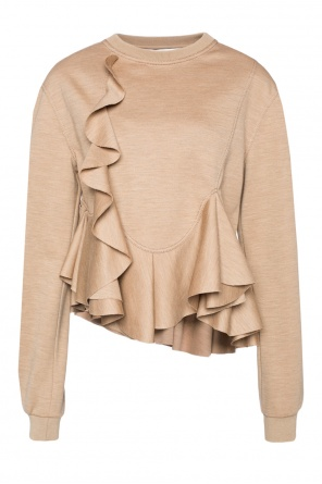 Sweatshirt with ruffles od Givenchy