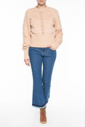 Sweater with braided accents od Chloe
