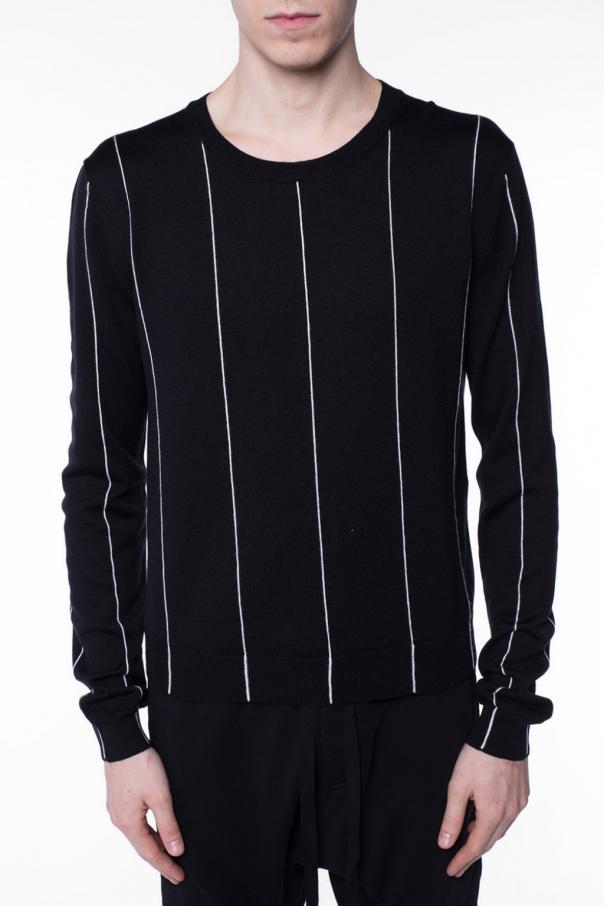 pinstriped sweater haider ackermann vitkac shop online. Black Bedroom Furniture Sets. Home Design Ideas