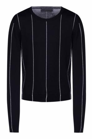 Pinstriped sweater od Haider Ackermann