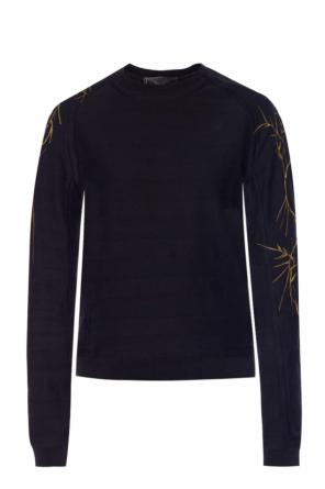 Embroidered sweatshirt od Haider Ackermann