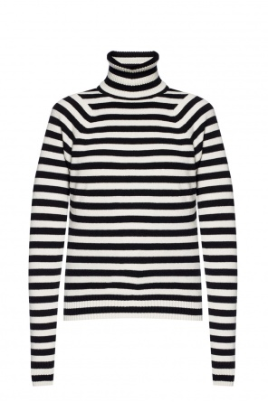 Turtleneck top with a stripe motif od Haider Ackermann