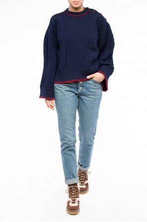 Braided sweater od Sonia Rykiel