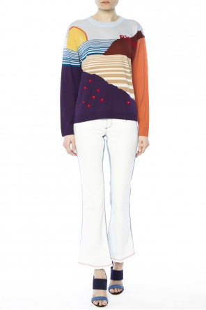 Patterned sweater od Sonia Rykiel