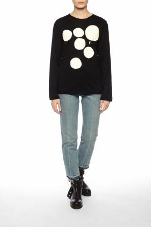 Printed sweater od Comme des Garcons Black