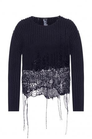 Woven sweater od Ann Demeulemeester