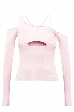 'figuerolles' ribbed top od Jacquemus