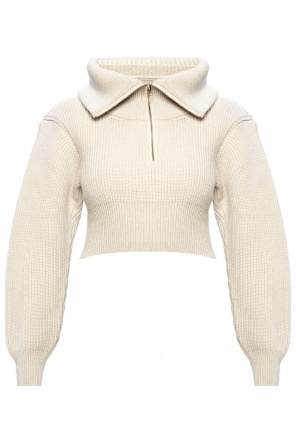 Cropped sweater od Jacquemus