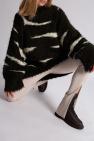 The Attico Striped sweater