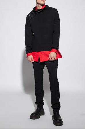 'la jannu' sweater with zip od Jacquemus