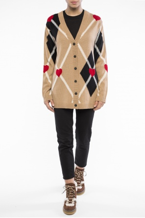 Patterned cardigan od MSGM