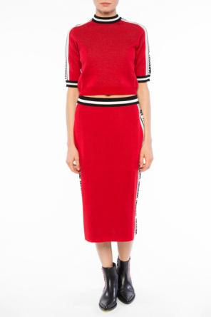 Cropped sweater od MSGM