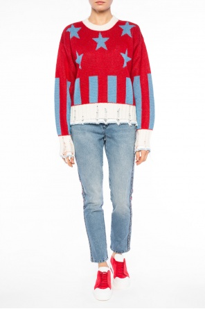 Raw-trimmed sweater od MSGM