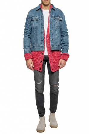 Ribbed cardigan od MSGM