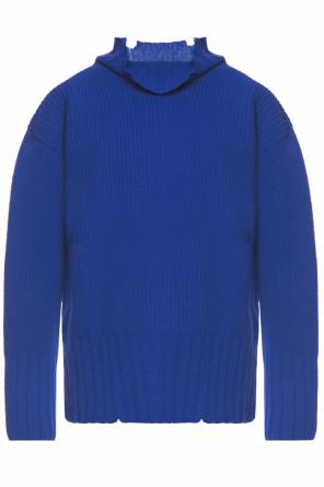 Raw edge turtleneck sweater od MSGM