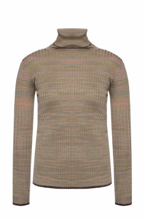 Striped turtleneck sweater od M Missoni