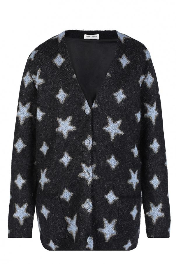 59d7be90a67a3 Cardigan with stars Saint Laurent - Vitkac shop online