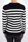 Sweter w paski od Saint Laurent Paris