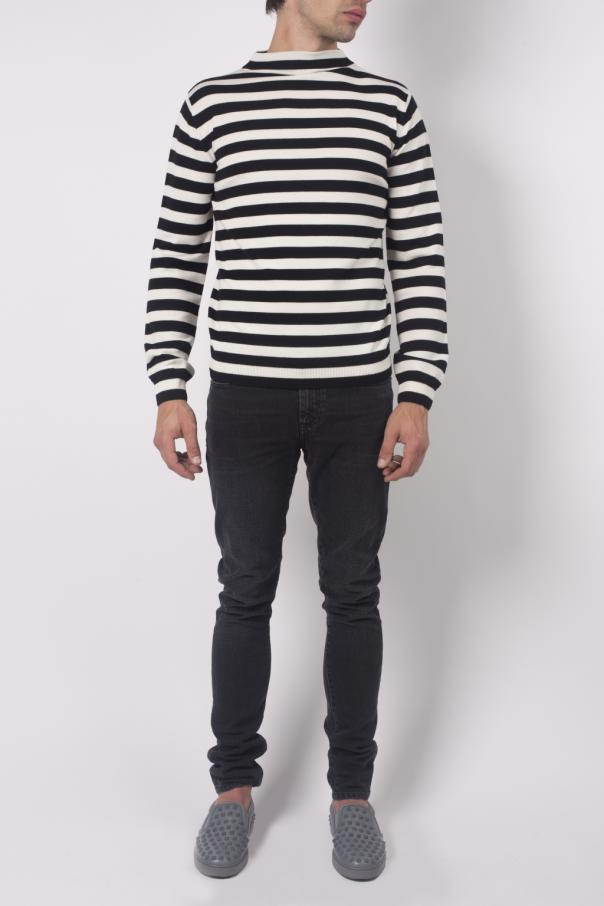 eaa2d8856093e Striped Wool Sweater Saint Laurent Paris - Vitkac shop online