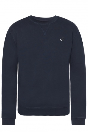 Swallow-patched sweatshirt od McQ Alexander McQueen