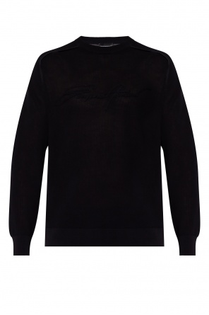 Sweater with logo od Emporio Armani