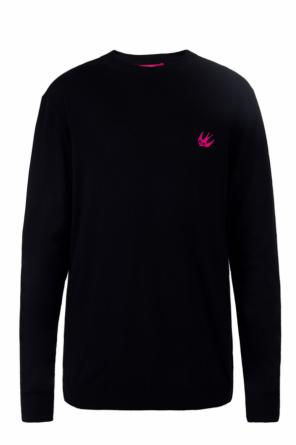 Embroidered logo sweater od McQ Alexander McQueen