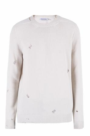 Sweater with holes od Alexander McQueen