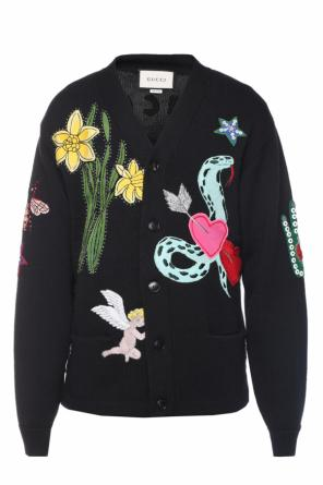 Embroidered cardigan od Gucci