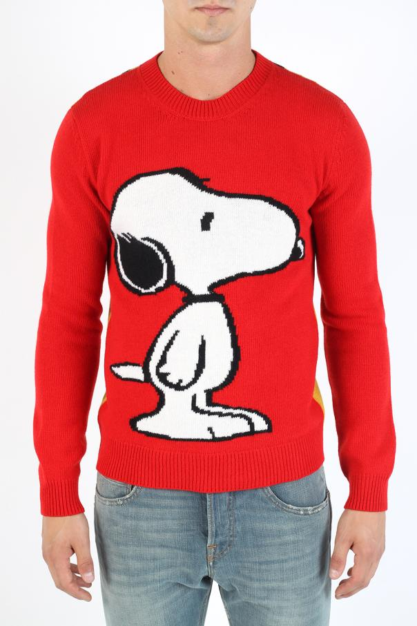 e681248acc8 Embroidered Snoopy sweater Gucci - Vitkac shop online