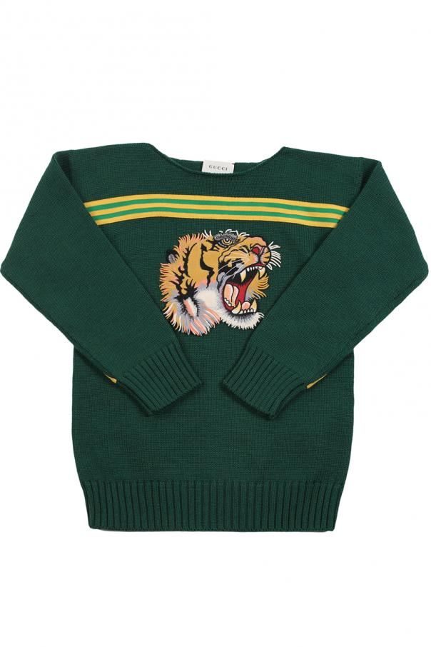 14d0350564f Patched sweater Gucci Kids - Vitkac shop online