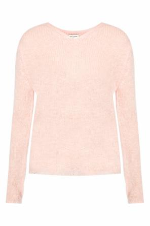 Mohair sweater od Saint Laurent