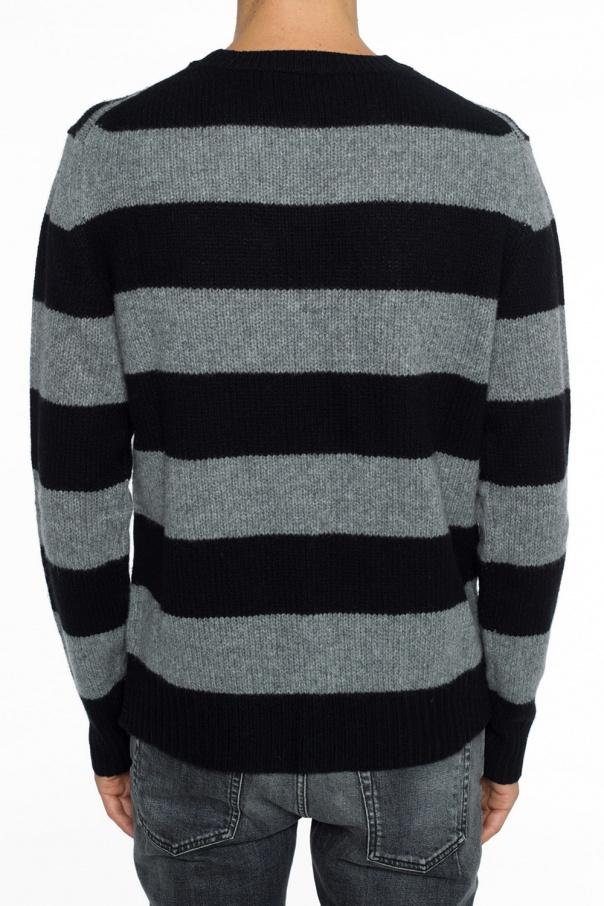 Striped sweater od McQ Alexander McQueen